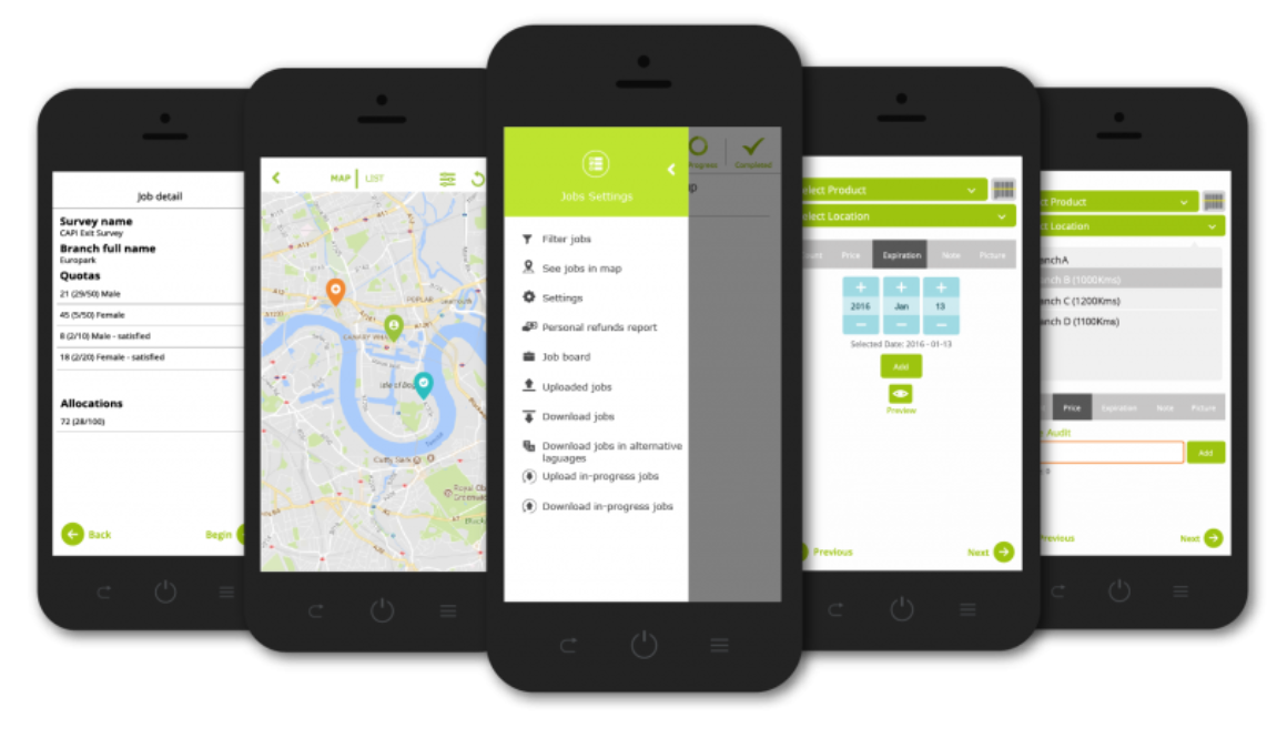 Mobile data collection tool