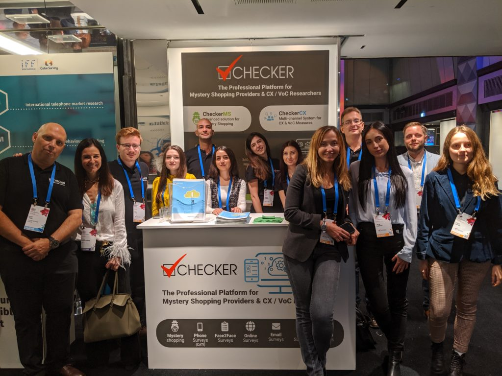 Checker Team at ASSIRM 2019 Market Research Forum Milan